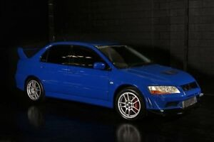 2001 Mitsubishi Lancer Evolution VII Blue Manual Sedan Daisy Hill Logan Area Preview