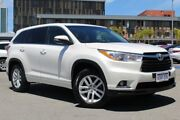 2015 Toyota Kluger GSU50R GX 2WD Crystal Pearl 6 Speed Sports Automatic Wagon Northbridge Perth City Area Preview