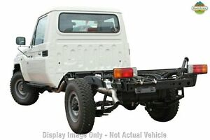 2013 Toyota Landcruiser VDJ79R MY13 Workmate White 5 Speed Manual Cab Chassis Wangara Wanneroo Area Preview