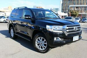 2016 Toyota Landcruiser VDJ200R VX Ebony 6 Speed Sports Automatic Wagon Northbridge Perth City Area Preview