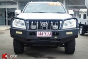 2013 Toyota Landcruiser Prado KDJ150R GXL White 5 Speed Sports Automatic Wagon Garbutt Townsville City Preview