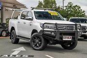 2016 Toyota Hilux GUN126R SR5 Double Cab White 6 Speed Sports Automatic Utility Noosaville Noosa Area Preview