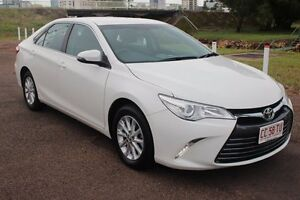 2015 Toyota Camry ASV50R Altise Diamond White 6 Speed Sports Automatic Sedan The Gardens Darwin City Preview
