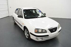 2003 Hyundai Elantra XD GL White 4 Speed Automatic Sedan Moorabbin Kingston Area Preview