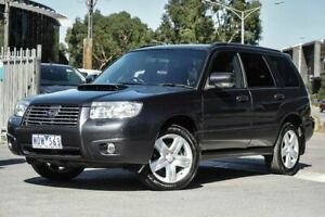 2007 Subaru Forester 79V MY07 XT AWD Grey 4 Speed Automatic Wagon Docklands Melbourne City Preview