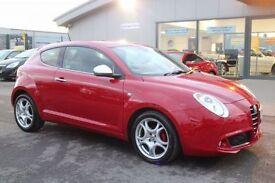 ALFA ROMEO MITO 0.9 TWINAIR DISTINCTIVE 3d 85 BHP - VIEW 360 SPIN (red) 2012
