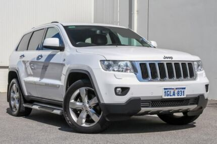 2012 Jeep Grand Cherokee WK MY2012 Limited White 6 Speed Sports Automatic Wagon