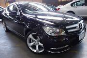 2013 Mercedes-Benz C250 C204 MY13 7G-Tronic + Black 7 Speed Sports Automatic Coupe Port Melbourne Port Phillip Preview