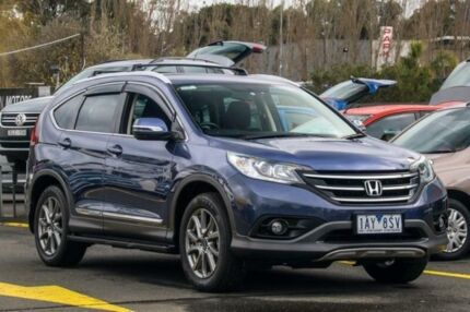 2012 Honda CR-V RM VTi Blue 6 Speed Manual Wagon Ringwood East Maroondah Area Preview