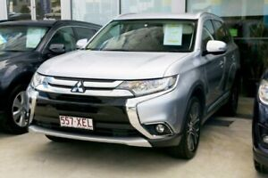 2017 Mitsubishi Outlander ZK MY17 LS 2WD Cool Silver 6 Speed Constant Variable Wagon Mount Gravatt Brisbane South East Preview