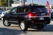2016 Toyota Landcruiser VDJ200R Sahara Black 6 Speed Sports Automatic Wagon Cannington Canning Area Preview