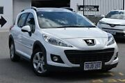 2010 Peugeot 207 A7 Series II MY10 Outdoor Touring HDi White 5 Speed Manual Wagon Claremont Nedlands Area Preview