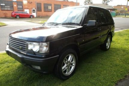 2002 Land Rover Range Rover HSE 4 Speed Automatic Wagon Hampton East Bayside Area Preview