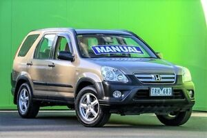 2005 Honda CR-V RD MY2005 4WD Brown 5 Speed Manual Wagon Ringwood East Maroondah Area Preview