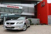 2008 Honda Accord 40 MY06 Upgrade VTi-L Silver 5 Speed Automatic Sedan Mackay Mackay City Preview