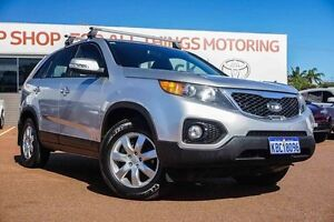 2010 Kia Sorento XM MY10 SI Silver 6 Speed Sports Automatic Wagon Westminster Stirling Area Preview