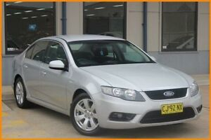2009 Ford Falcon FG G6 Silver 4 Speed Sports Automatic Sedan Prospect Blacktown Area Preview