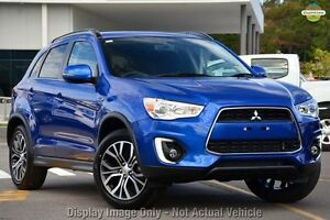 2016 Mitsubishi ASX XB MY15.5 LS (2WD) Lightning Blue 6 Speed Continuous Variable Wagon Wolli Creek Rockdale Area Preview
