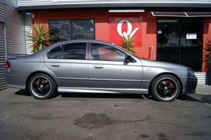 2002 Ford Falcon BA XR6T Silver 5 Speed Manual Sedan Blair Athol Port Adelaide Area Preview