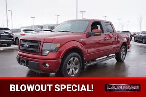 2013 Ford F-150 FX2 SUPERCREW SPORT Leather,  Heated Seats,  Bac