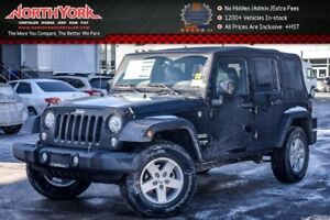 2018 Jeep Wrangler NEW CAR Sport 4x4|LED,Connect,PwrConviPkgs|17