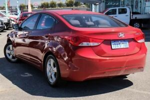 2012 Hyundai Elantra MD Elite Red 6 Speed Automatic Sedan