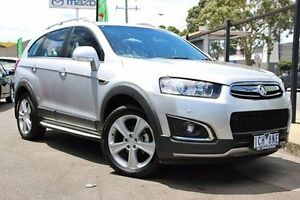 2014 Holden Captiva CG MY14 7 AWD LTZ Silver 6 Speed Sports Automatic Wagon Coburg Moreland Area Preview