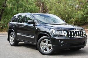 2012 Jeep Grand Cherokee WK MY2013 Laredo Black 5 Speed Sports Automatic Wagon St Marys Mitcham Area Preview