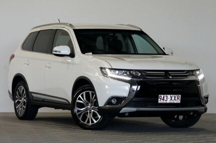 2016 Mitsubishi Outlander ZK MY16 LS (4x2) White Continuous Variable Wagon Coopers Plains Brisbane South West Preview