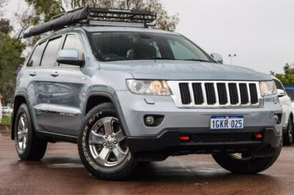 2012 Jeep Grand Cherokee WK MY2012 Laredo Blue 5 Speed Sports Automatic Wagon