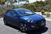 2015 Hyundai i30 GD3 Series II MY16 Active X Blue 6 Speed Sports Automatic Hatchback St Marys Mitcham Area Preview