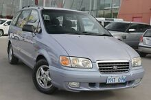 2003 Hyundai Trajet FO GLS Blue 4 Speed Automatic Wagon Pearce Woden Valley Preview