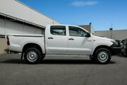 2014 Toyota Hilux SR DOUBLE CAB KUN26R MY14 White Manual Utility Cannington Canning Area Preview