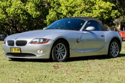 2003 BMW Z4 E85 2.5I Silver 5 Speed Manual Roadster Girards Hill Lismore Area Preview