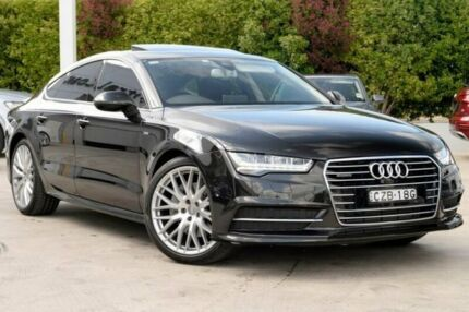2015 Audi A7 4G MY15 S Line Sportback S tronic quattro Black 7 Speed Sports Automatic Dual Clutch Gosford Gosford Area Preview