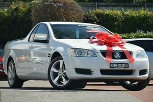 2011 Holden Ute VE II MY12 Omega White 6 Speed Sports Automatic Utility Thornleigh Hornsby Area Preview