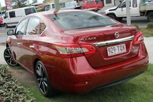 2013 Nissan Pulsar B17 ST Red 1 Speed Constant Variable Sedan