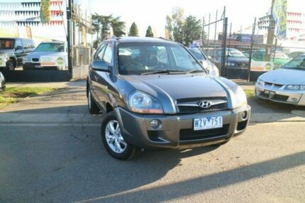 2009 Hyundai Tucson 08 Upgrade City Elite Grey 4 Speed Automatic Wagon Brooklyn Brimbank Area Preview