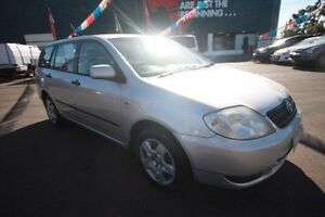 2004 Toyota Corolla ZZE122R 5Y Ascent Silver 4 Speed Automatic Wagon Kingsville Maribyrnong Area Preview