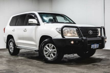 2014 Toyota Landcruiser VDJ200R MY13 GXL White 6 Speed Sports Automatic Wagon Welshpool Canning Area Preview
