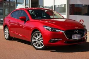 2017 Mazda 3 BN5238 SP25 SKYACTIV-Drive GT Soul Red 6 Speed Sports Automatic Sedan