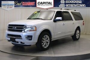 2017 Ford Expedition Max Limited 4WD*Turbo*Leather*Sunroof*