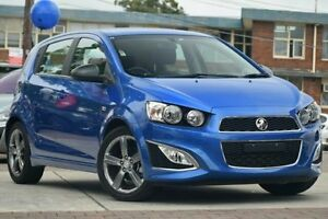 2016 Holden Barina TM MY16 RS Blue 6 Speed Manual Hatchback Waitara Hornsby Area Preview