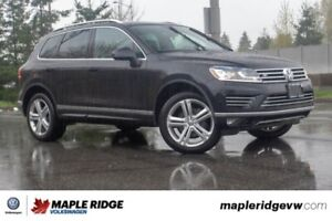2015 Volkswagen Touareg Execline TDI R-LINE, GREAT CONDITION, BC