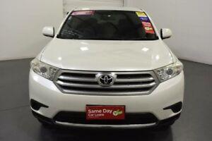 2012 Toyota Kluger GSU40R MY11 Upgrade KX-R (FWD) 5 Seat White 5 Speed Automatic Wagon