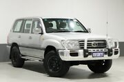 2005 Toyota Landcruiser UZJ100R Upgrade GXL (4x4) Silver 5 Speed Automatic Wagon Bentley Canning Area Preview