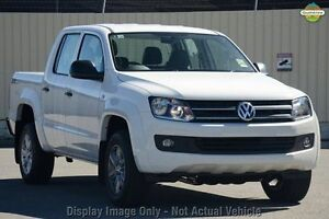 2016 Volkswagen Amarok 2H MY16 TDI400 4MOT Core Edition White 6 Speed Manual Utility Moonah Glenorchy Area Preview