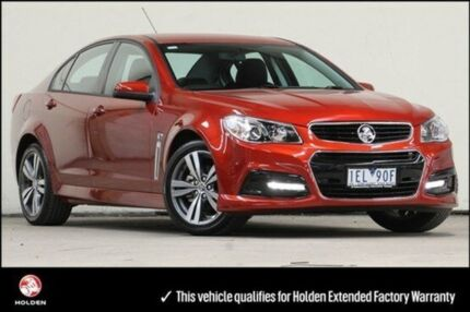 2015 Holden Commodore VF MY15 SV6 Some Like It Hot 6 Speed Auto Seq Sportshift Sedan Vermont Whitehorse Area Preview