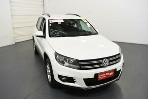 2013 Volkswagen Tiguan 5NC MY13.5 103 TDI White 7 Speed Automatic Wagon Moorabbin Kingston Area Preview