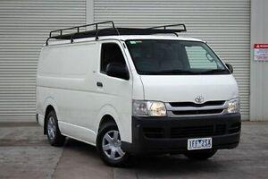 2009 Toyota Hiace KDH201R MY08 LWB White 5 Speed Manual Van Seaford Frankston Area Preview